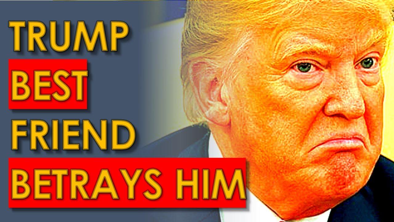 Trump Best Friend BETRAYING him to Escape PRISON