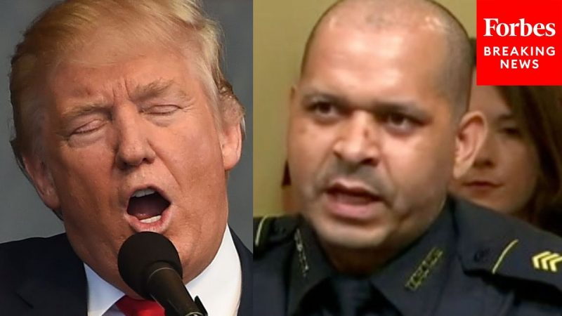 Officer Roasts Trump: 'If That Was Hugs And Kisses, We Should All Go To HIs House And Do The Same'