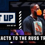 Russell Westbrook - 'LeBron James needs Russell Westbrook' - Kendrick Perkins reacts to the Lakers trade | Get Up
