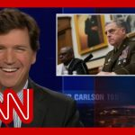 Tucker Carlson calls America's top general a stupid pig