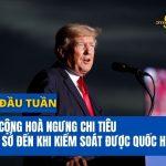 Trump Đòi Cộng Hòa Ngưng Chi Tiêu Hạ Tầng Cơ Sở Đến Khi Kiểm Soát Quốc Hội