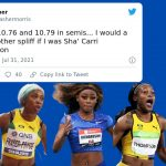 Sha'Carri Richardson - Social Media Reacts To Jamaica Sweeping Women's 100m Amid Sha'Carri Richardson's Absence
