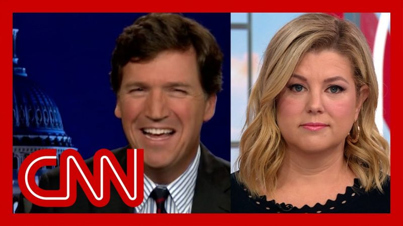 'He is white rage': Keilar calls out Tucker Carlson