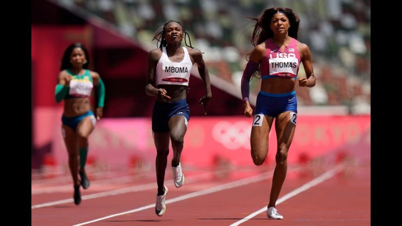 Gabby Thomas – Florence's Gabby Thomas finishes second in heat advances in 200 meters