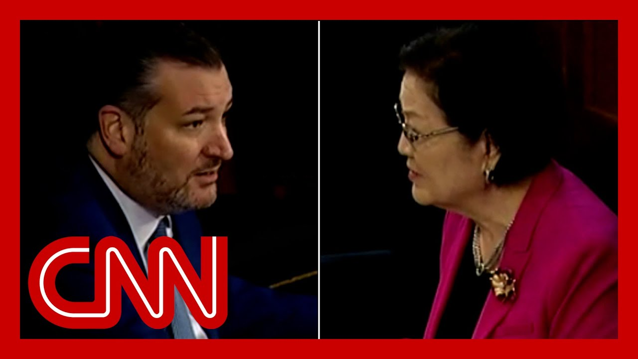 Ted Cruz accused of 'mansplaining' as hearing goes off the rails