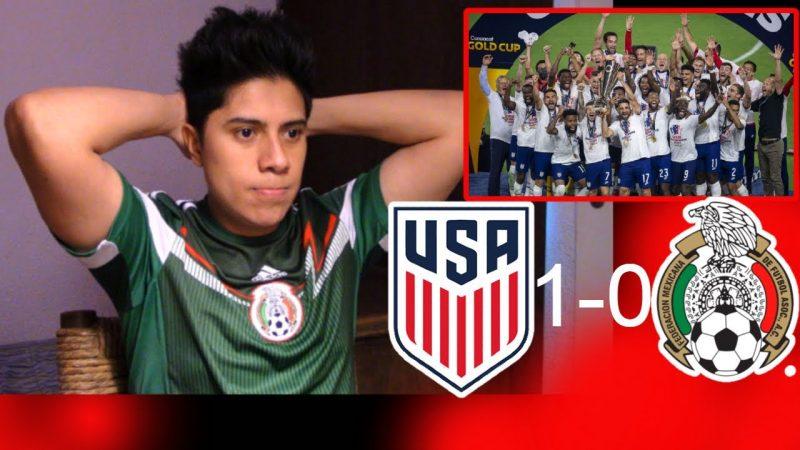 Mexico vs USA – MEXICO VS ESTADOS UNIDOS 1-0 – Copa Oro – Reacciones – Jonathan Chacon