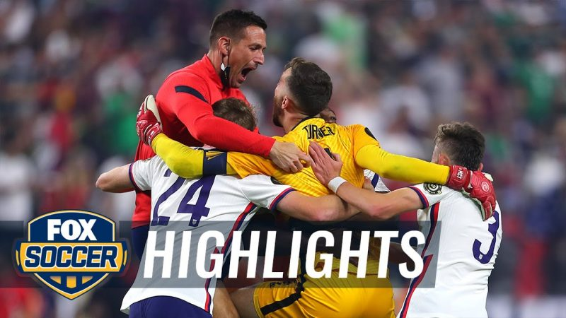 USA vs Mexico – Watch USMNT celebrate winning Gold Cup after defeating Mexico, 1-0 | 2021 Gold Cup