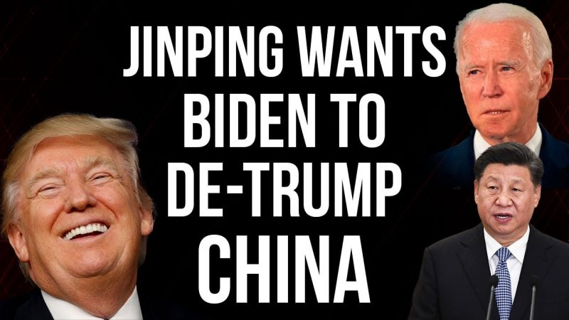 De-Trump us first if you want a relation. China to the USA