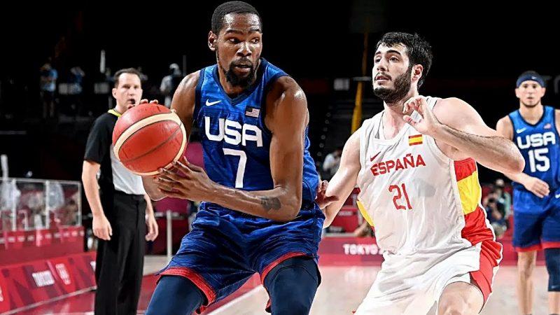 Basketball Olympics – USA Basketball vs Spain, JO 2021, Espagne USA JO Basket, JO Tokyo 2021, resume, highlights
