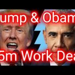 Trump And Obama Offer $5m To Work Together