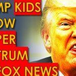 Trump Kids Throw TEMPER TANTRUM Live on Fox News
