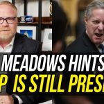 Mark Meadows PLAYS WITH FIRE - Suggests Donald Trump is Still President & Meeting w/ His Cabinet!