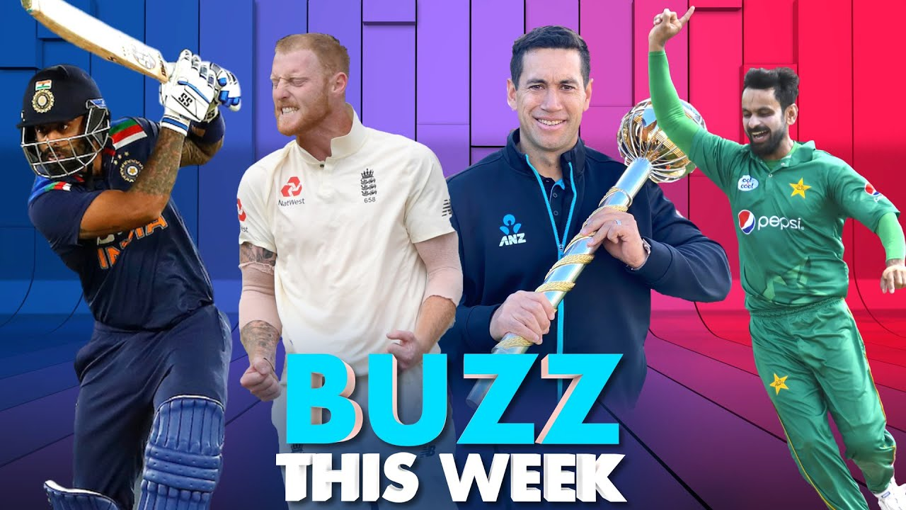 Buzz This Week: SL trump India   Stokes hits pause   NZ 'Mace' it count
