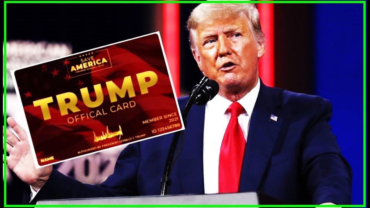 Trump's New Scam 'The Trump Card'