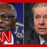 Clyburn slams Lindsey Graham's reparations comment