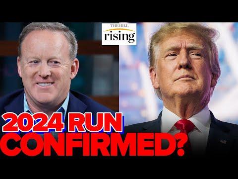 Trump RUNNING AGAIN In 2024 Per Former Press Sec Sean Spicer After MASSIVE Fundraising Haul