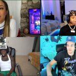 Silky Full E-date With Teanna Trump ft. Adin Ross, Kai Cenat & More