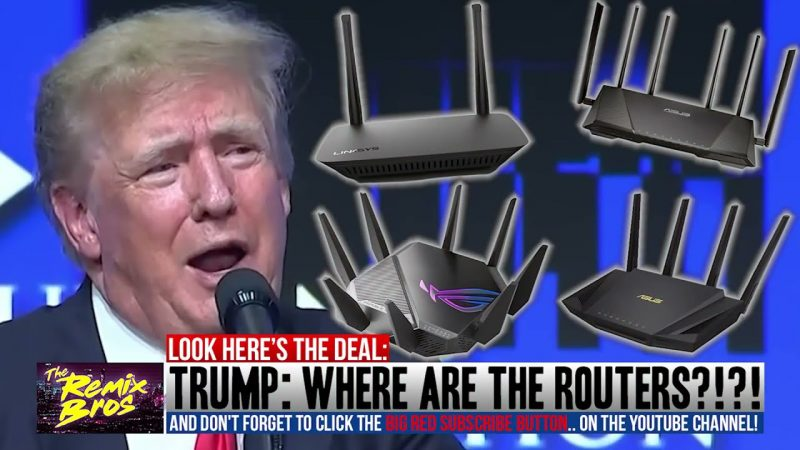 """TRUMP """"WHERE ARE THE ROUTERS??!!""""     LMAO!!!!  ( RAP SONG)"""