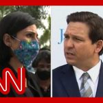 Exchange gets heated between Florida governor and CNN reporter