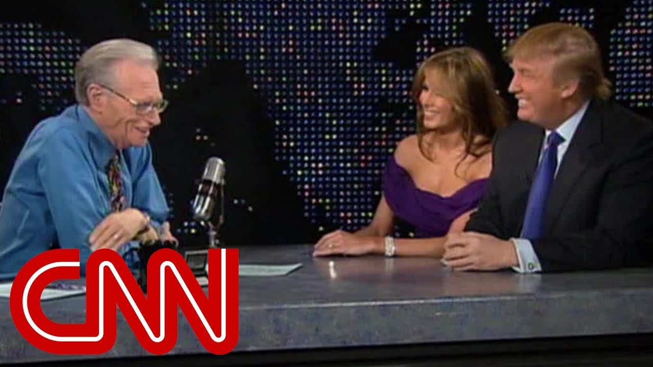 Donald and Melania Trump as newlyweds (2005 CNN Larry King Live full interview)