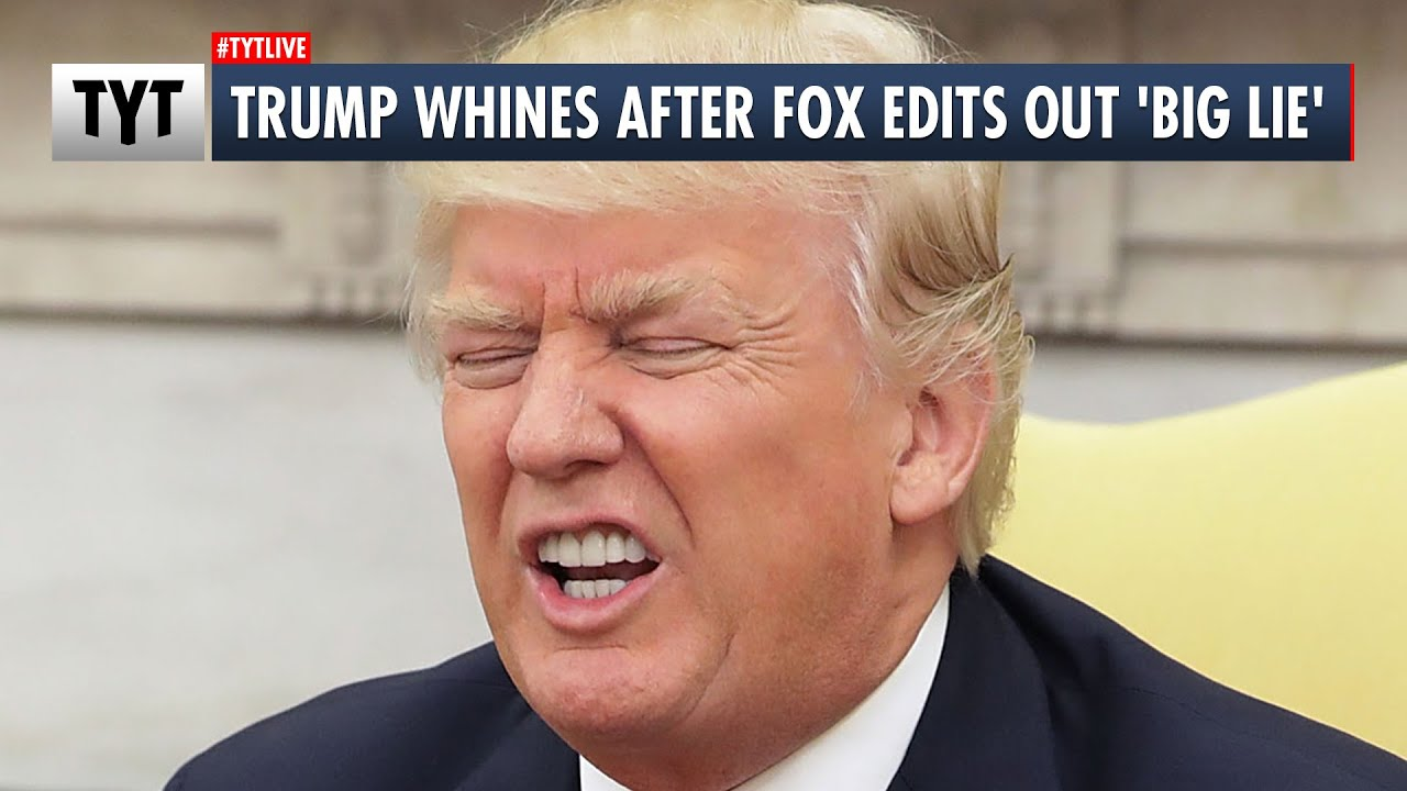 Trump WHINES Over Fox Edits