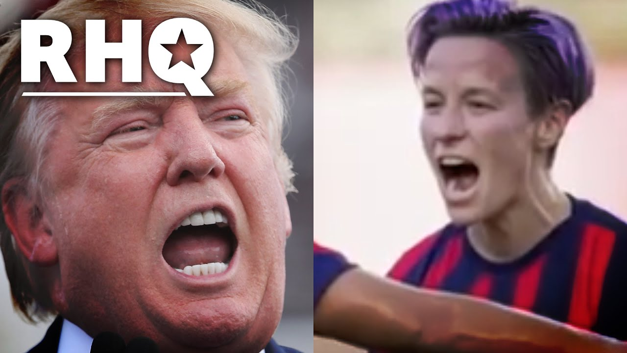 Trump HUMILIATED By Rapinoe And The USWNT