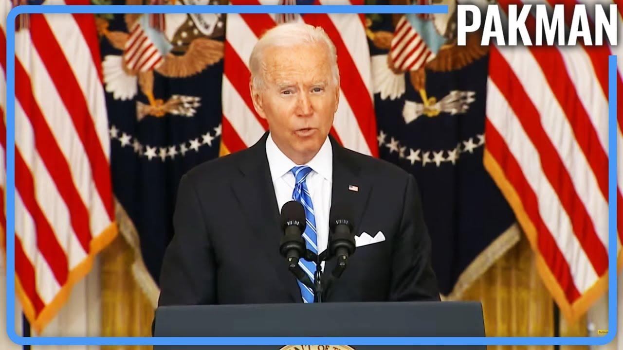Biden SLAMS Trump For Racking Up So Much Debt
