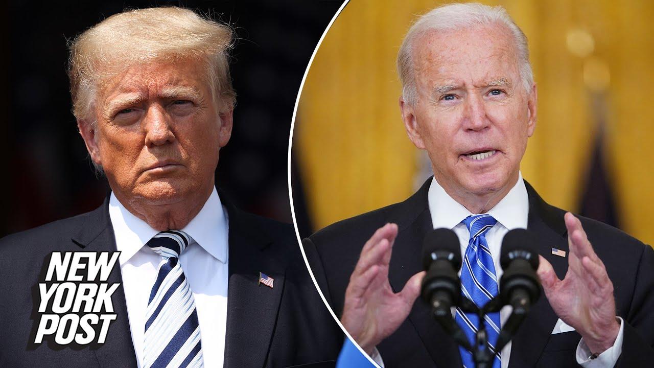 Trump slams Biden over Afghanistan & inflation   New York Post