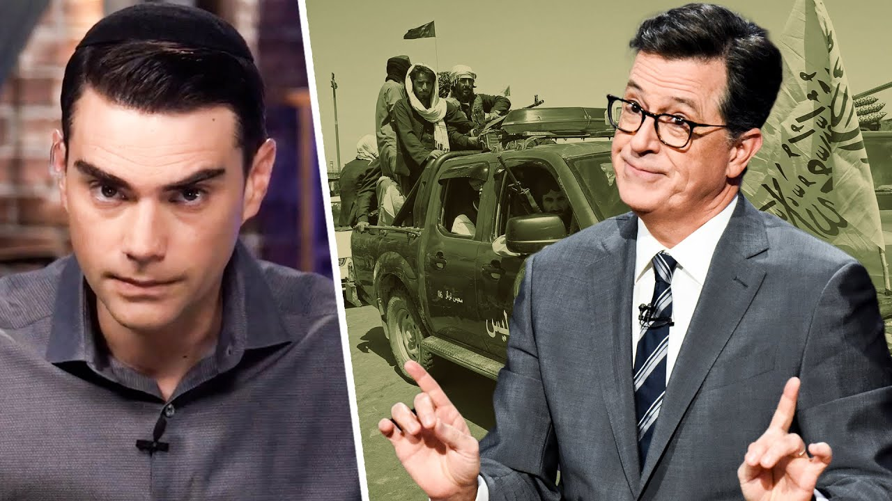 Shapiro RIPS Colbert For Comparing Trump Voters to the Taliban