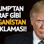 Trump'tan İtiraf Gibi Afganistan Açıklaması!