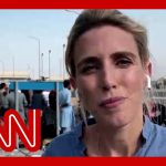 Clarissa Ward at Kabul's airport: It's hard being an American here witnessing this