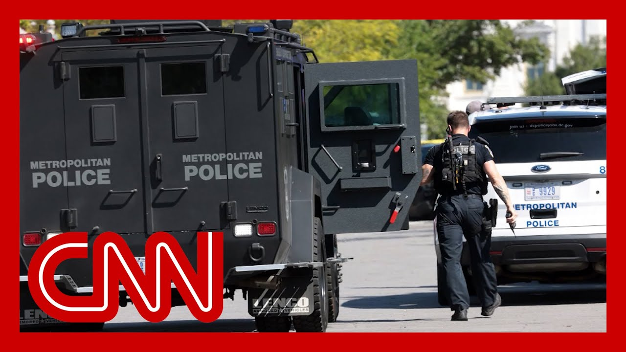 Suspect surrenders after hours-long standoff near the Capitol