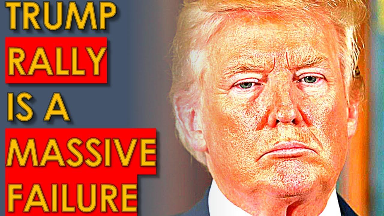 Trump Next Rally is already a HUGE FAILURE