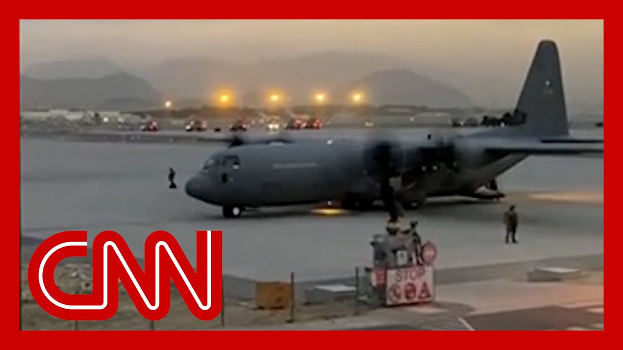 Behind the scenes at chaotic evacuation of Kabul airport