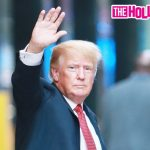 Donald Trump Waves To Fans & The Media While Leaving Trump Tower In New York City 8.16.21