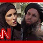 Clarissa Ward presses Taliban fighter on treatment of women