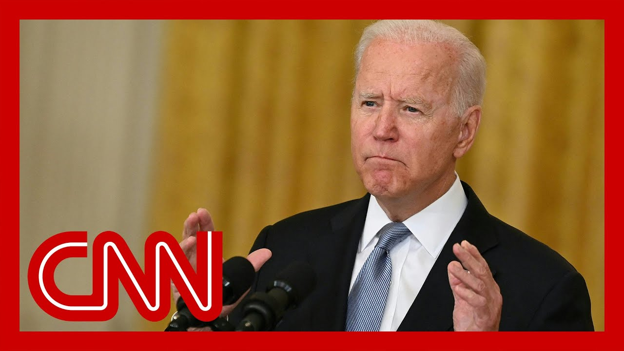 Biden speaks after Afghanistan's government collapses