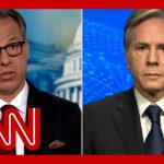 'You keep changing the subject': Tapper presses Blinken on Afghanistan