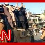 Taliban releases footage after capturing major city in Afghanistan