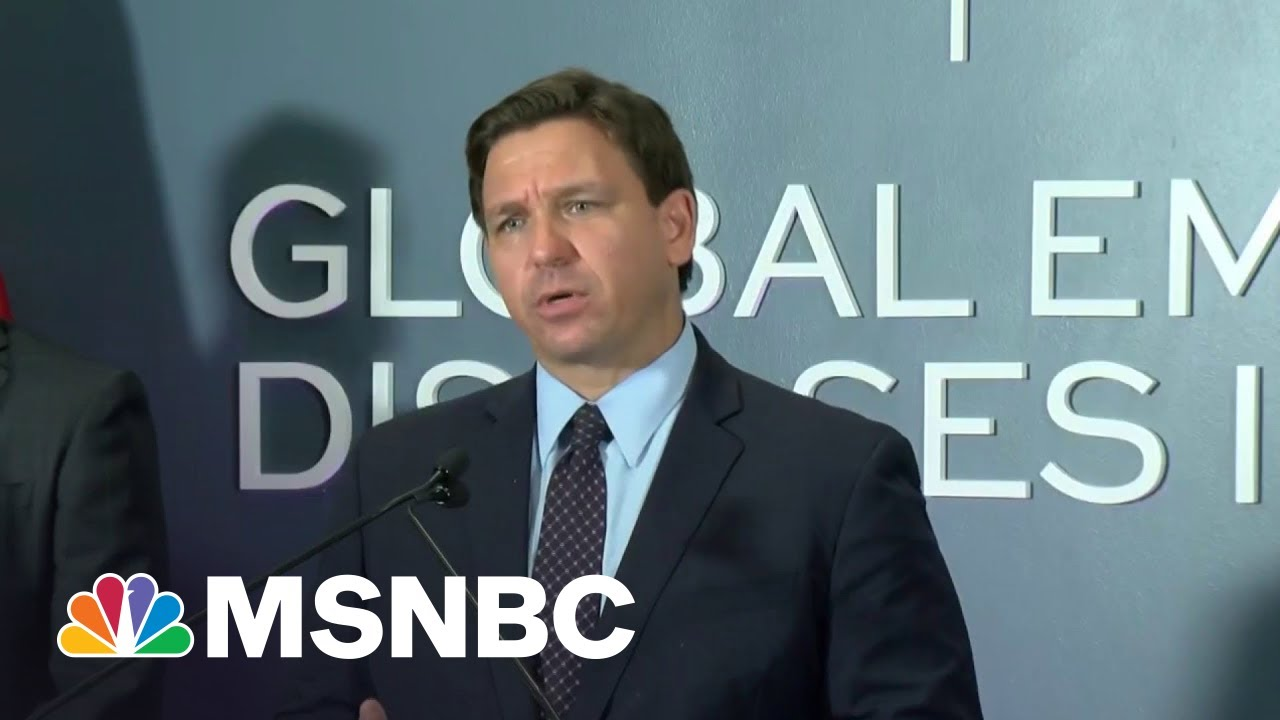 Dean: Covid-19 Will End Mini-Trump's Florida Career Like It Ended Trump's Presidency