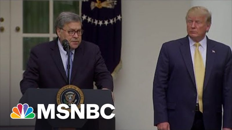 Trump's Inside Job Busted By Barr's Replacement In 2021 Testimony