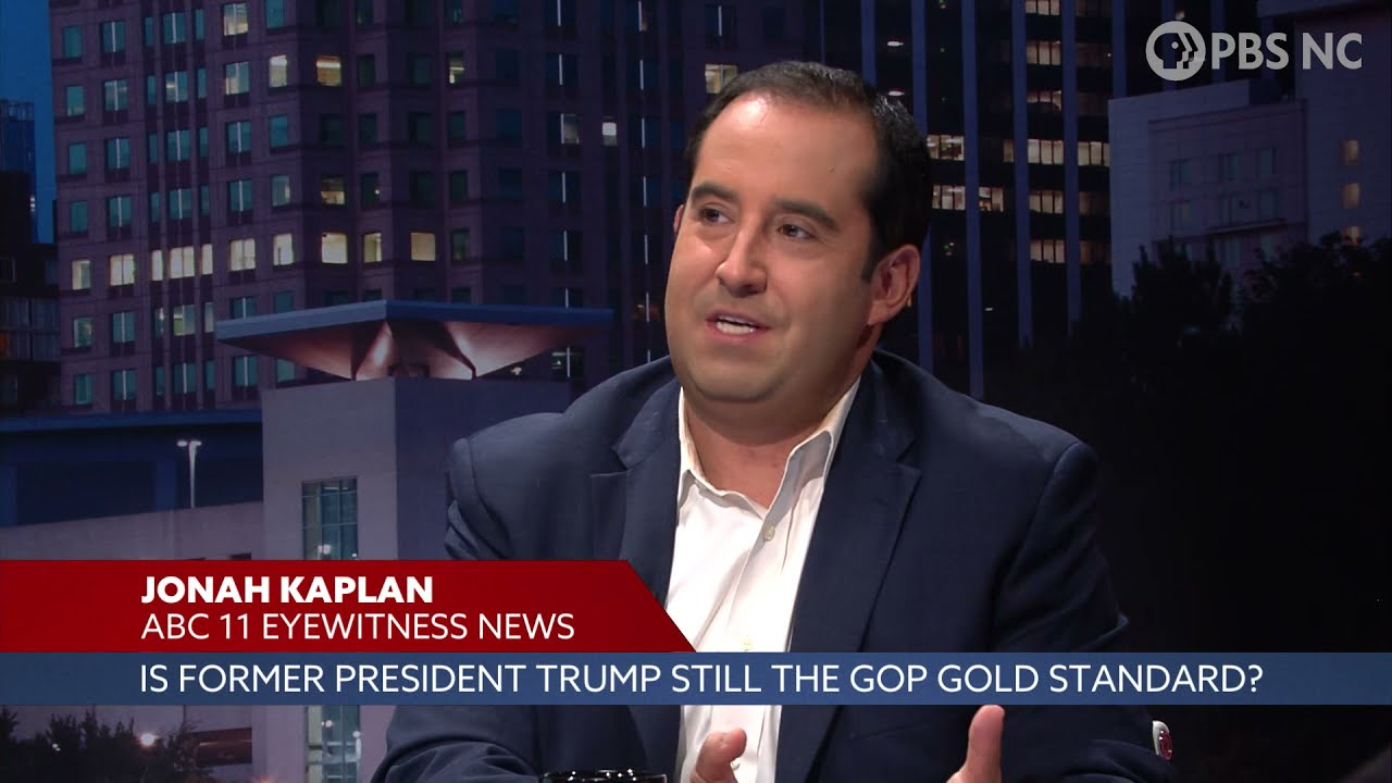 """FRONT ROW August 6th: Is Former President Trump Still the """"Gold Standard"""" in the Republican Party?"""