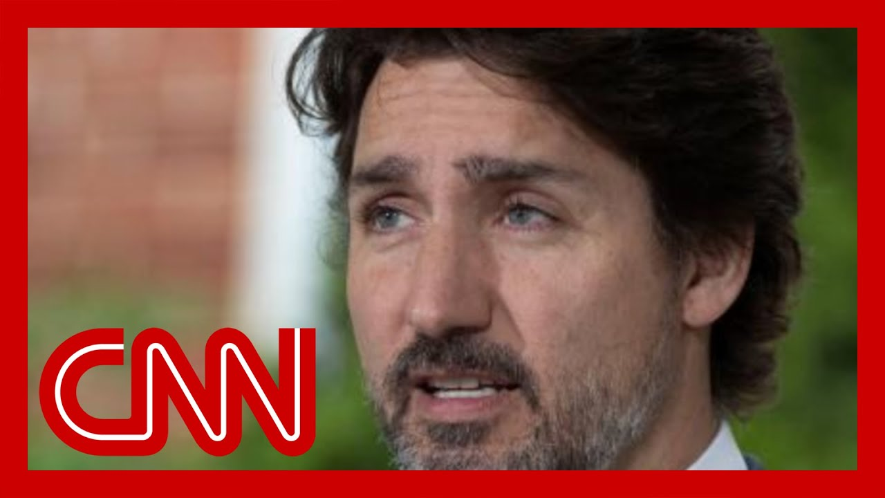 Video shows Trudeau facing angry voters in Canadian election