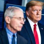 Trump accuses Fauci of silence on COVID