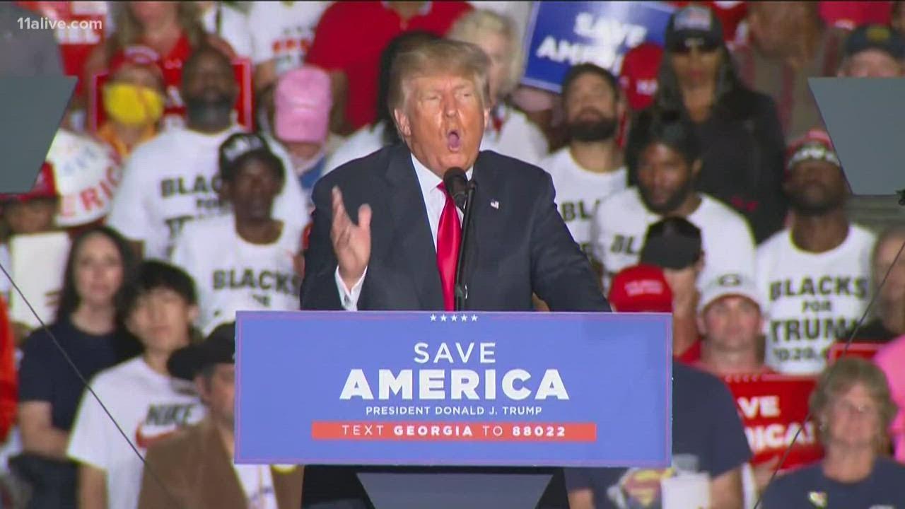 Former President Donald Trump's 'Save America Rally' in Georgia