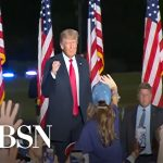 Trump returns to campaign stage in Georgia