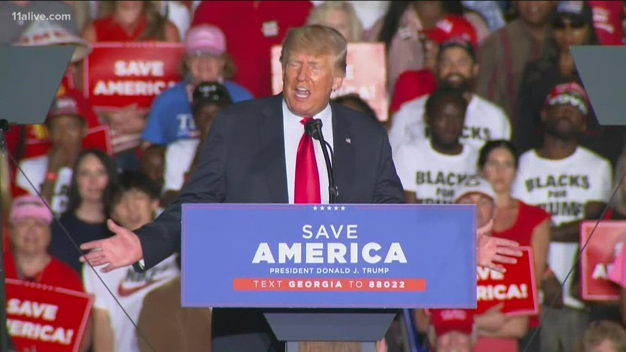 Trump bashes Gov. Kemp as 'disaster' at Georgia rally   What does it mean for his re-election chance