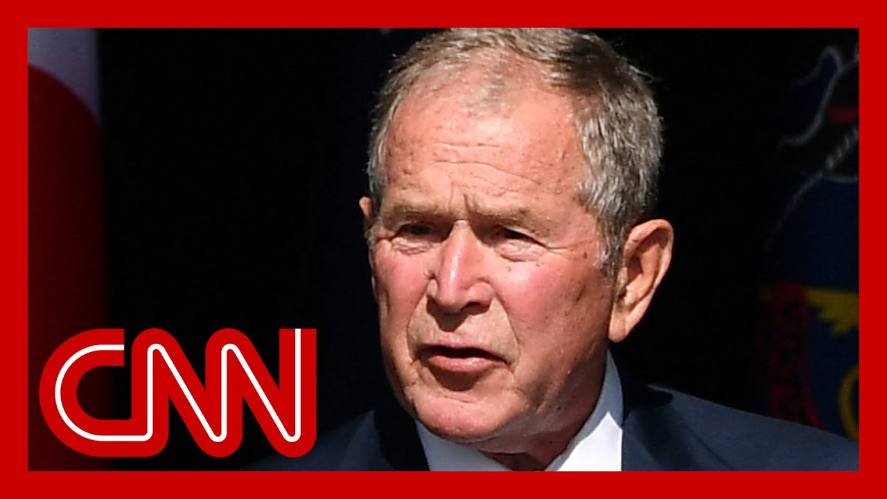 Bush alludes to January 6 while condemning 9/11 terrorists