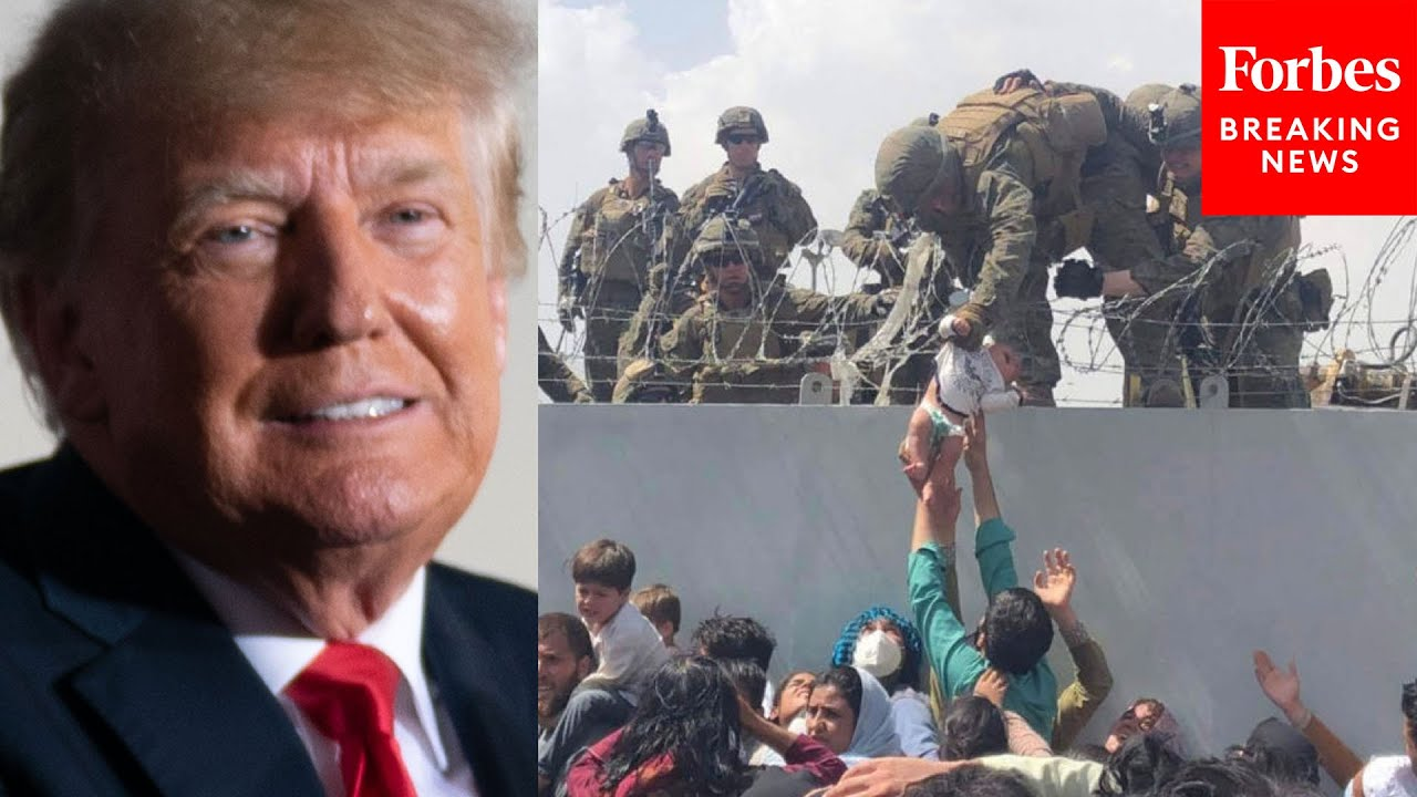 Trump Invites Marine Who Pulled Baby Over Wall In Kabul Airport Onstage At Rally