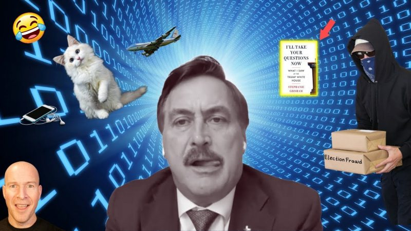 Mike Lindell's Tech Fails And The New Trump Book Is Hilarious